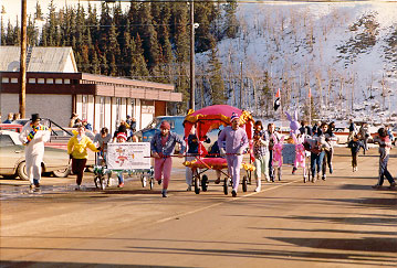 Whitehorse Rendezvous - Bed Race